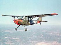 Cessna O-1A Bird Dog US Army in flight.jpg