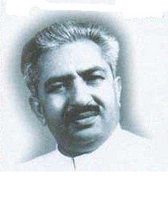 Chief Minister of Delhi - Image: Ch Brahm Prakash