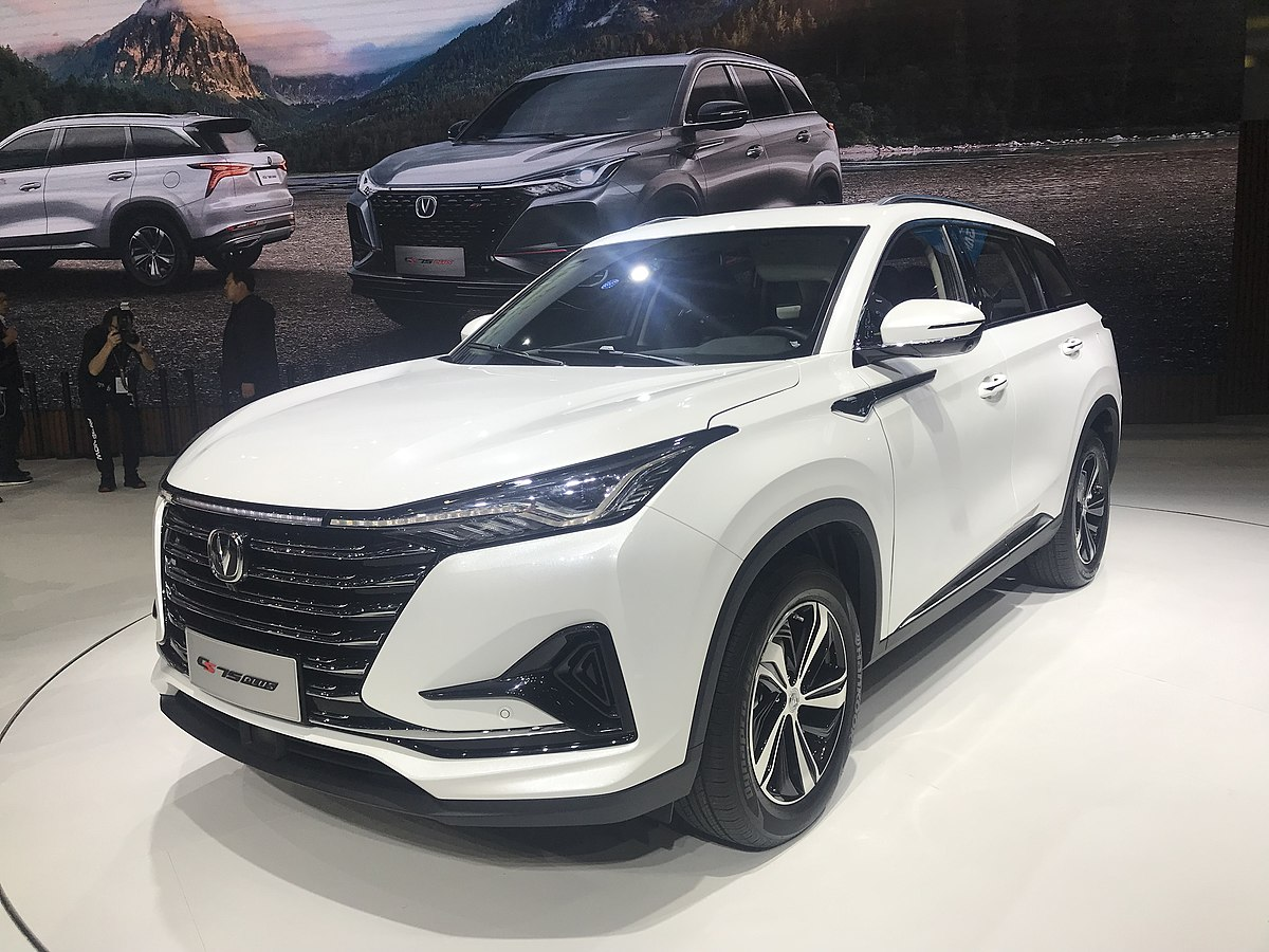 What Is A Crossover Suv >> Changan CS75 - Wikipedia