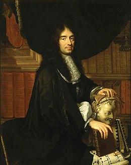 Charles Perrault, gemalt von Philippe Lallemand, 1672 (Quelle: Wikimedia)