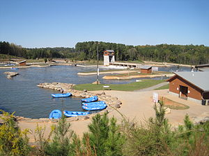 U.S. National Whitewater Center - Image: Charlotte Whitewater 01