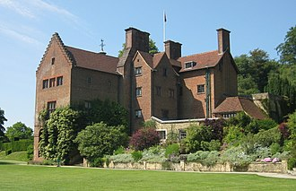 """Chartwell - """"I bought Chartwell for that view"""" – Churchill on the view of the Weald of Kent that led him to buy the house"""