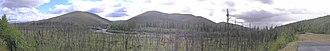 Chatanika River - Chatanika River panorama