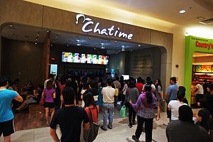 Chatime - Chatime outlet in Æon, Bandar Bukit Tinggi, Klang, Malaysia