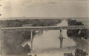 Horace King (architect) - Bridge completed in 1839 by King over the Chattahoochee River at Eufaula, Alabama.