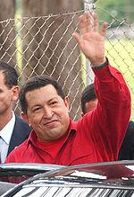 Hugo Chávez, principal promotor del PSUV.