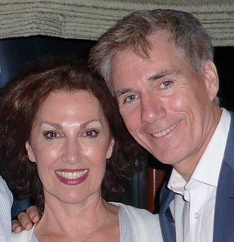 Cheryl Barker - Barker and David Hobson, 2014