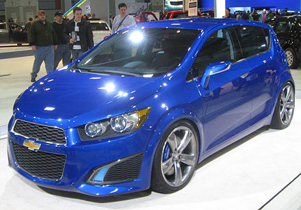 Chevrolet Aveo Concept Chevrolet Aveo RS concept front.jpg