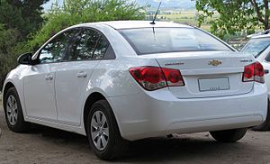 Chevrolet Cruze - Chevrolet Cruze LS sedan (Chile; pre-faceift)