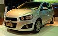 Chevrolet Sonic hatch - 2012 Montevideo Motor Show.jpg