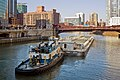 Chicago River towboat and barge 080405.jpg