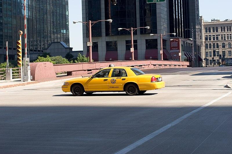 Preço do táxi do aeroporto de Chicago para o centro