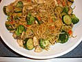Chicken yakisoba from up by Merelymel13.jpg