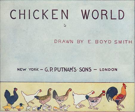 Litterature De Jeunesse En Anglais Elmer Boyd Smith Le Poulailler Presentation Du Livre Wikiversite
