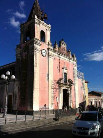 Gravina di Catania - Church of St. Anthony.
