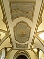 Chiesa di San Giorgio, interno, soffitto (Rovolon).jpg