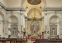 Interno della chiesa di San Marcuola