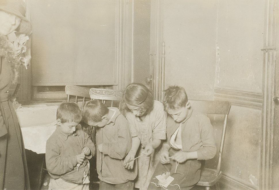 Child Labor in New Jersey United States 1923