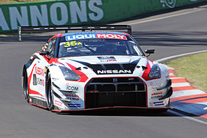Katsumasa Chiyo - The race-winning Nissan GT-R of Chiyo, Reip and Strauss at the 2015 Liqui Moly Bathurst 12 Hour.