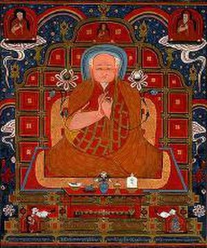 Sakya Pandita - Drogön Chögyal Phagpa, one of the five founders of the Sakya school of Tibetan Buddhism, first vice-king of Tibet. In 1253 Kublai Khan invited Sakya Pandita's Nephew Chogyal Phagpa to court. As a result, Buddhism was declared the state religion and Phagpa was given authority over three of Tibet's provinces.
