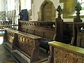 Choir stalls within St Mary's, Bloxham - geograph.org.uk - 1461138.jpg