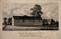 Cholera Hospital, Oxford; near the Oxford Canals. Line engra Wellcome V0014190.jpg