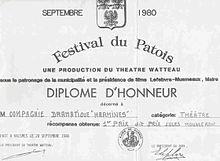 Christian Doué - Diplôme Harmines