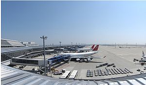 Chubu Centrair International Airport - Gates at Centrair