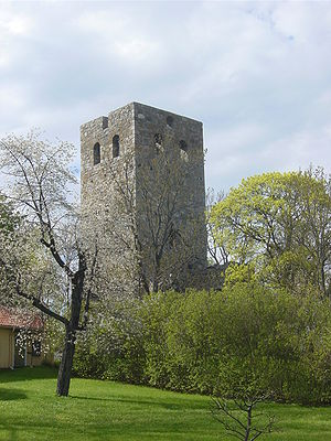 Diocese of Sigtuna - Ruins of the Church of Saint Peter in Sigtuna.