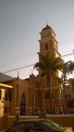 Church of Saint Rose of Lima in Mendoza City, Veracruz.jpg