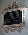 Church of St Mary the Virgin, Woodnesborough, Kent - Thomas Blechenden memorial tablet.jpg