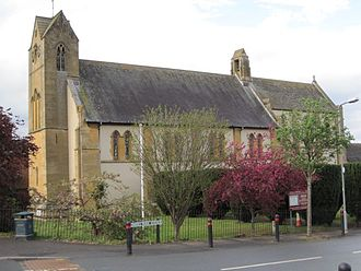 Walter Tapper - Image: Church of the Ascension Malvern