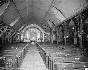 Church of the Transfiguration, Episcopal (Manhattan) - Image: Church of the Transfiguration interior LC D4 17422