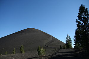 English: Cinder Cone in Lassen Volcanic Park
