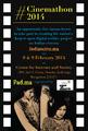 Cinemathon2014 Bangalore poster.png