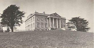 Claremont (country house) - Claremont House, ca. 1860