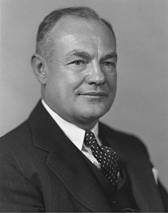 Claude R. Wickard - Image: Claude R. Wickard, 12th Secretary of Agriculture, September 1940 June 1945. Flickr USD Agov