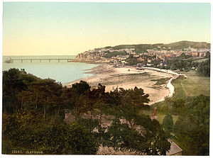 Clevedon - Clevedon about 1900