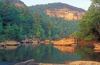 Big South Fork of the Cumberland River - Image: Cliffs on the Big South Fork, NPS photo