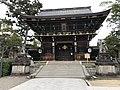 Closed Kitano Tenman gu tower gate 20200506.jpg