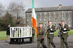 Castlebar Barracks - Closure ceremony at Castlebar Barracks