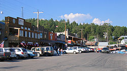 Cloudcroft in the summer