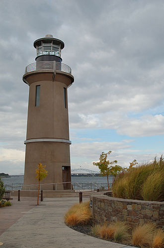 Kennewick, Washington - Clover Island Lighthouse overlooking the Columbia River. Photo Credit: Brian Gomez
