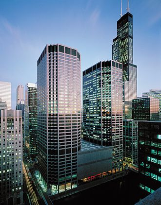 CME Group - Image: Cme building aerial view
