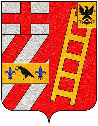 Bona family - Coat of arms of the branch of Bona-Giorgi/Bunić-Đurđević