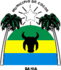 Coat of Arms of Cocos - BA - Brazil.png