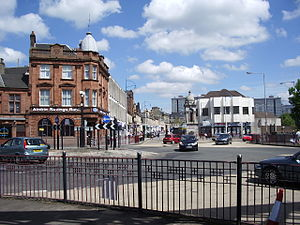 Coatbridge - Image: Coatbridge Fountain 1