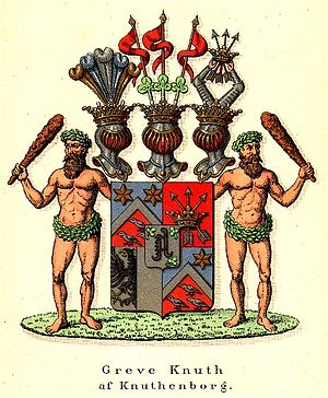 Knuthenborg - Coat of arms