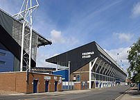 Portman Road, Ipswich's home ground since 1884