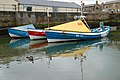 Cobles in the harbour, Amble (2) - geograph.org.uk - 1366404.jpg
